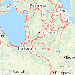 Lettland Karta Europa.Karta Over Litauen Har Hittar Du Kartor Over Litauen