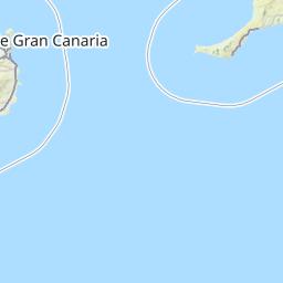 de kanariske øer kort
